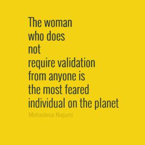 Furious Womanhood